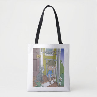 The Hiccup Book tote - The Cat
