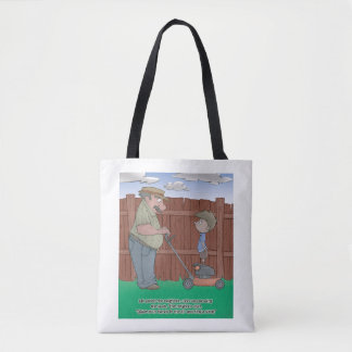 The Hiccup Book tote - The Neighbor