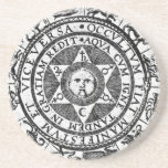 The Hidden Becomes Manifest Beverage Coasters