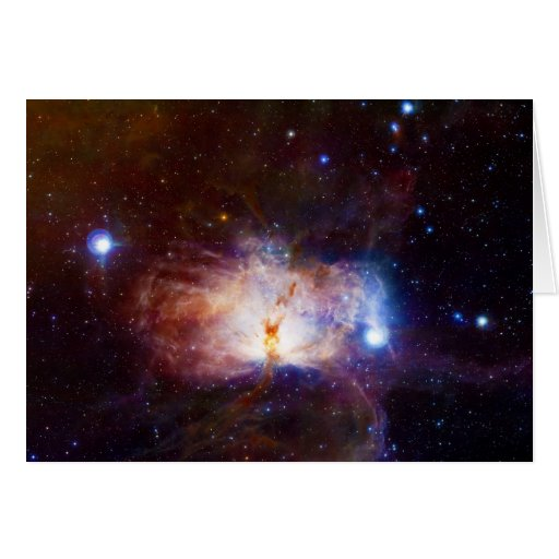 The Hidden Fires of the Flame Nebula NGC 2024 Card