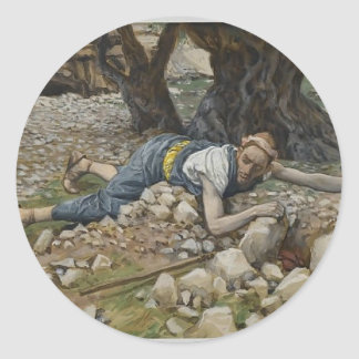 The Hidden Treasure by James Tissot Stickers