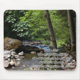 The Hiding Place Mouse Mat