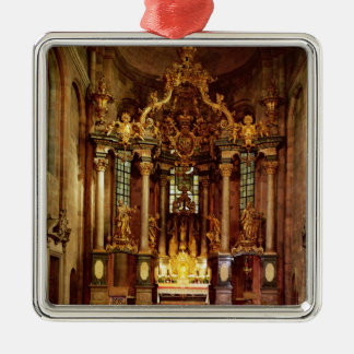 The high altar in the east choir christmas ornament