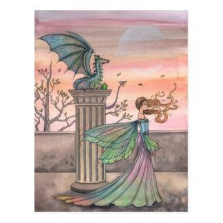 The High Courtyard Fairy Dragon Postcard