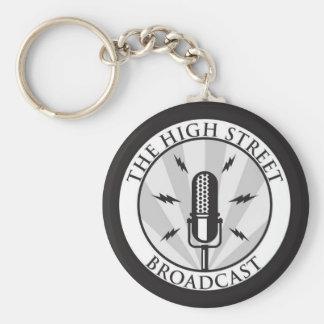 The High Street Broadcast Keychain