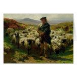The Highland Shepherd, 1859 Card