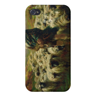 The Highland Shepherd, 1859 iPhone 4 Cases