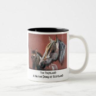 The Highland Two-Tone Coffee Mug