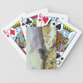 The Highlands, near Argyle (w/c on paper) Bicycle Playing Cards