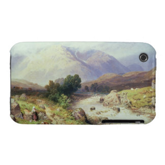 The Highlands, near Argyle (w/c on paper) iPhone 3 Case-Mate Case