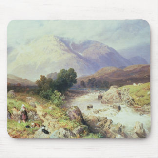 The Highlands, near Argyle (w/c on paper) Mouse Mat