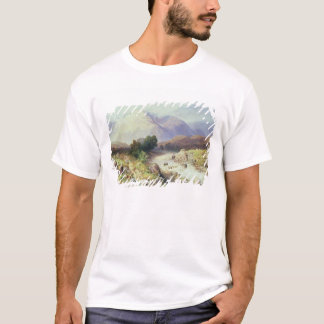 The Highlands, near Argyle (w/c on paper) T-Shirt