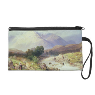 The Highlands, near Argyle (w/c on paper) Wristlet