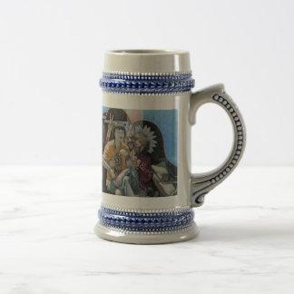 The Highpriest of Beanpole Beer Stien! Coffee Mugs