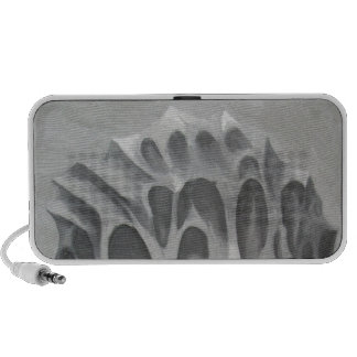 The Hill surrealism nature pattern Mp3 Speakers