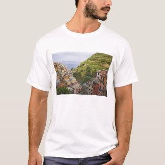 the hillside village of Manarola-Cinque Terre, T-Shirt