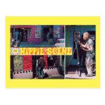 The Hippie Scene Vintage Postcard