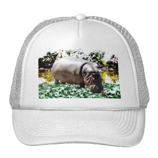 The Hippo And The Bird Trucker Hat