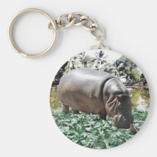 The Hippo And The Bird Key Ring