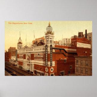 The Hippodrome, New York City Vintage Posters