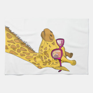 The Hipster Giraffe Towels