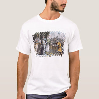 The Historic Day of Bouvines in 1214, engraved by T-Shirt