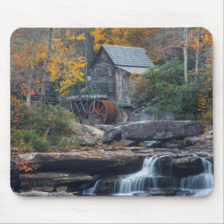 The Historic Grist Mill On Glade Creek Mouse Mat