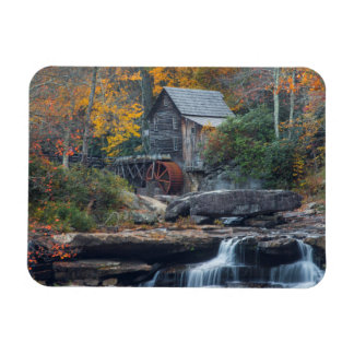 The Historic Grist Mill On Glade Creek Rectangular Photo Magnet