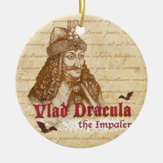 The historical Count Dracula Christmas Ornament