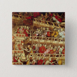 The History of Pope Alexander III 15 Cm Square Badge