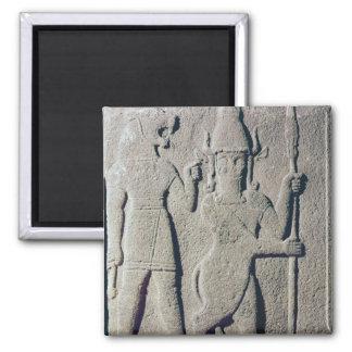 The Hittite God Uomi, Karkemish Square Magnet