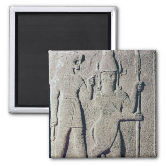 The Hittite God Uomi, Karkemish Fridge Magnets