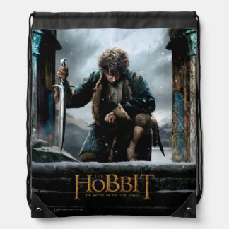 The Hobbit - BILBO BAGGINS™ Movie Poster Drawstring Bag