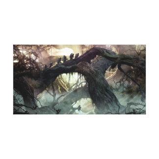 The Hobbit: Desolation of Smaug Concept Art 2 Canvas Print