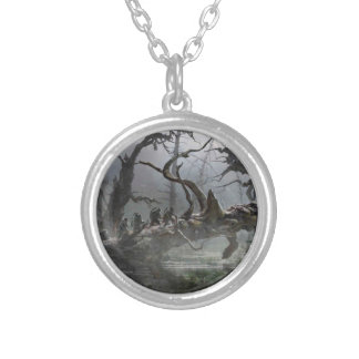 The Hobbit: Desolation of Smaug Concept Art 4 Silver Plated Necklace