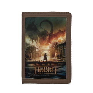 The Hobbit - Laketown Movie Poster Tri-fold Wallet