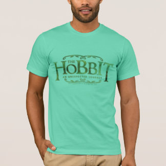 The Hobbit Logo Green T-Shirt