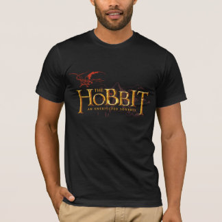 The Hobbit Logo Over Mountains T-Shirt
