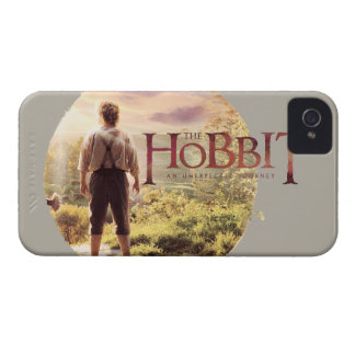 The Hobbit Logo with BAGGINS™ Back iPhone 4 Case-Mate Case