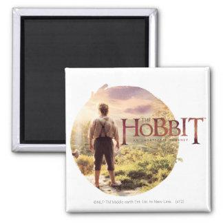 The Hobbit Logo with BAGGINS™ Back Magnet