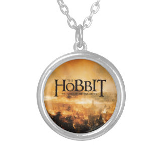 The Hobbit: THE BATTLE OF FIVE ARMIES™ Logo Silver Plated Necklace