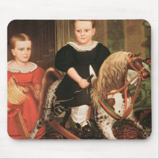 The Hobby Horse c 1840 Mouse Pad