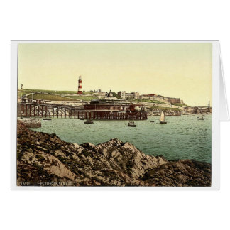 The Hoe, from the Rusty Anchor, Plymouth, England Card