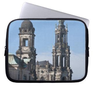 The hofkirche (Church of the Court) Dresden Laptop Sleeve