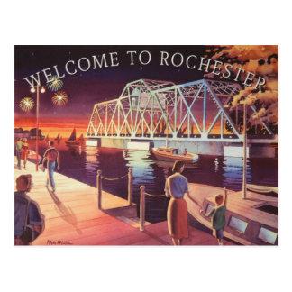 The Hojack Swing Bridge Postcard