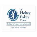 The Hokey Pokey Clinic Postcard