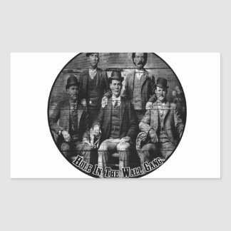 The Hole In The Wall Gang Rectangular Sticker