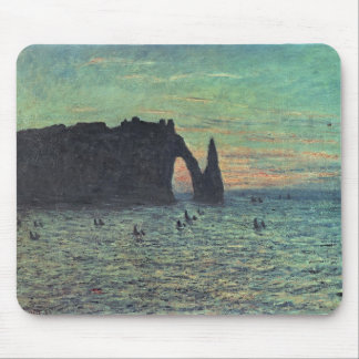 The Hollow Needle at Etretat, 1883 Mouse Pad