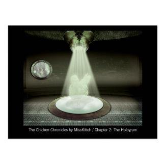 The Hologram Postcard