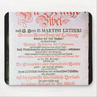 The Holy Bible, Vol. I., 1681 Mouse Pad